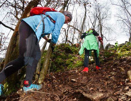 Alergare montana in Padurea Craiului Vadu Crisului Traseul Deventului