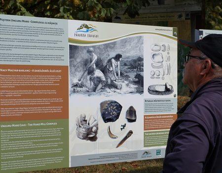 Pesteri turistice Padurea Craiului preistorie Unguru Mare