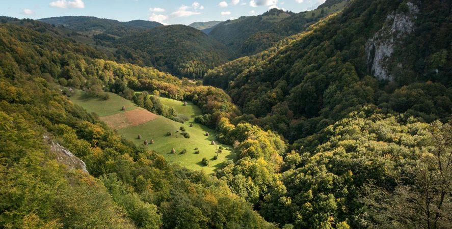 Alergare montana cheile lazurilor traseul vaii rosia featured
