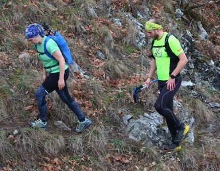 Alergare montana in Padurea Craiului Defileul Crisului Repede Traseul Pojorata