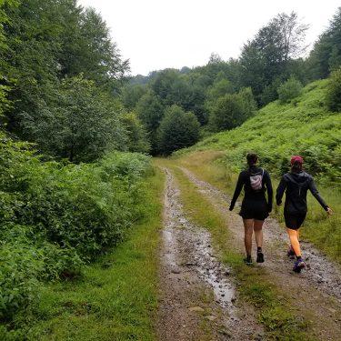 Alergare montana in Padurea Craiului lazuri de rosia traseul colinelor