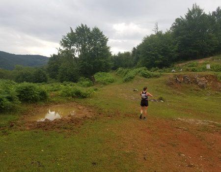 Alergare montana in Padurea Craiului rosia traseul colinelor