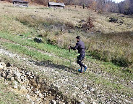 Alergare montana Padurea Craiului Valea Iadului traseul galben