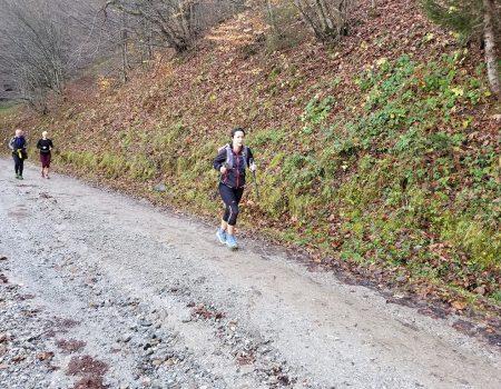Alergare montana Remeti traseul Verde