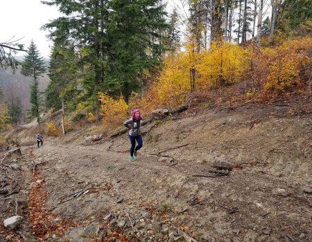 Alergare montana Valea Iadului Remeti Traseul albastru
