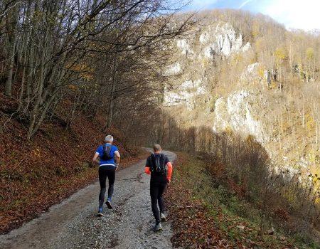 Alergare montana Valea Iadului Remeti traseul verde
