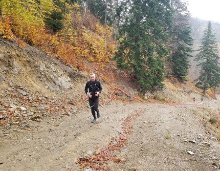 Alergare montana Valea Iadului traseu incepatori traseul galben