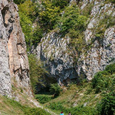 Drumetie Padurea Craiului Valea Rosia circuitul cheile cutilor