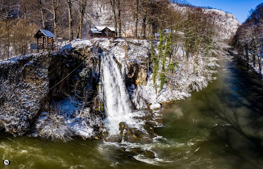 Padurea Craiului Valea Crisului Repede Cascada Vadu Crisului