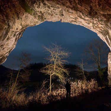 drumetie portal pestera unguru mare triunghi albastru cabana v crisului pestera moanei
