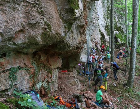 Padurea Craiului Valea Varciorog escalada