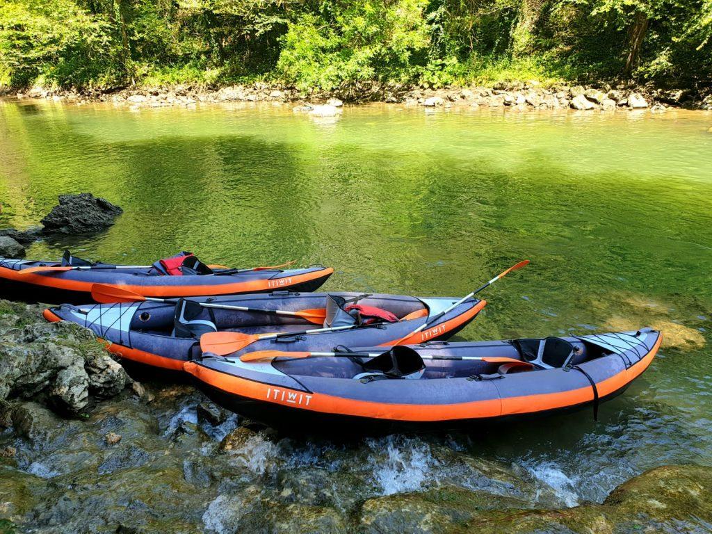 Rafting suncuius
