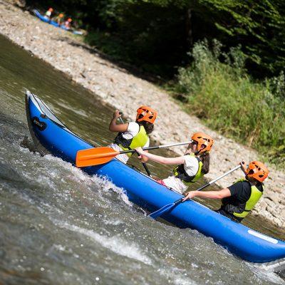 Padurea Craiului aventura copii rafting Crisul Repede